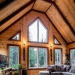 Монтаж окон деревянных домов