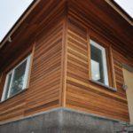 отделка деревянных домов, facade finishing