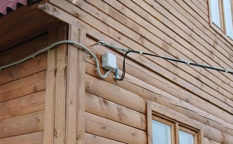 электропроводка в дом