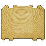 профилированный брус, profile timber