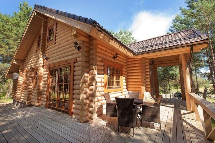 2 - Деревянные дома и бани