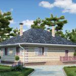 деревянный дом 112 кв.м