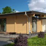 деревянный дом 165 кв.м