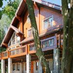 деревянный дом 175 кв.м