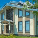 деревянный дом 176 кв.м