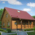 деревянный дом 187 кв.м