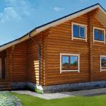 деревянный дом 208 кв.м