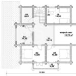 деревянный дом 211 кв.м