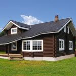 деревянный дом 226 кв.м