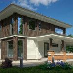 деревянный дом 236 кв.м