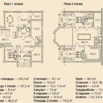 деревянный дом 240 кв.м
