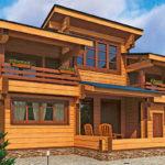 деревянный дом 242 кв.м