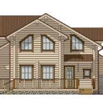 деревянный дом 255 кв.м