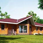 деревянный дом 266 кв.м