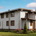 деревянный дом 398 кв.м