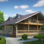 деревянный дом 419 кв.м