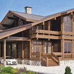 деревянный дом 460 кв.м