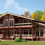 деревянный дом 552 кв.м