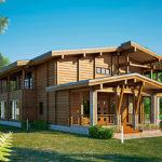 деревянный дом 699 кв.м