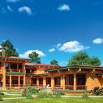 деревянный дом 824 кв.м