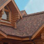 отделка деревянных домов, roof mounting