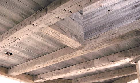 отделка потолков, ceiling beam mounting