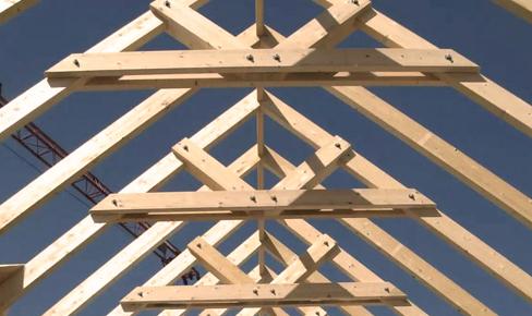 кровельные работы, roof crossbar mounting