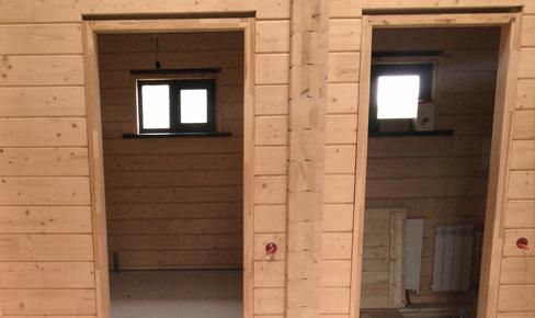 монтаж окон и дверей, door frame mounting