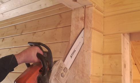 технологии строительства, door opening cutting out