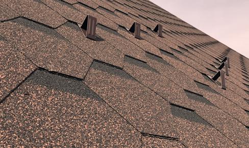монтаж крыши, flexible tile mounting
