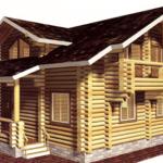 Деревянный дом 148 кв.м.