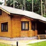деревянный дом 164.4 кв.м, rounded log house 164 m2