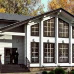 деревянный дом 172 кв.м, profiled timber house 172 m2