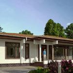деревянный дом 181 кв.м, glued beam house 181 m2