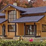 деревянный дом 220 кв.м, profiled timber house 220 m2