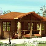 деревянный дом 265 кв.м, glued beam house 265 m2
