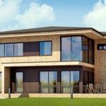 деревянный дом 273 кв.м, glued beam house 273 m2