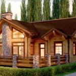 деревянный дом 389 кв.м, glued beam house 389 m2