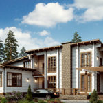 деревянный дом 398 кв.м, glued beam house 398 m2