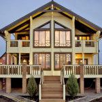 деревянный дом 433 кв.м, glued beam house 433 m2