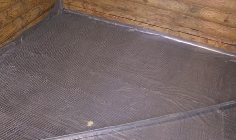 гидроизоляция пола, floor hydro isolation mounting