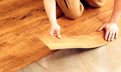 укладка линолеума, linoleum mounting
