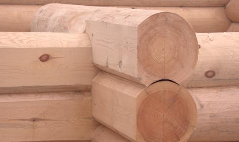 отделка сруба. log planing