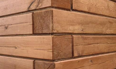 профилированный брус, planing of timber