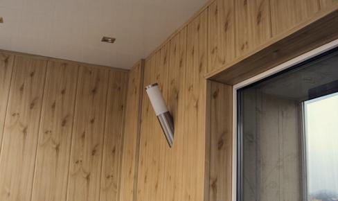 отделка стен, plastic panel mointing