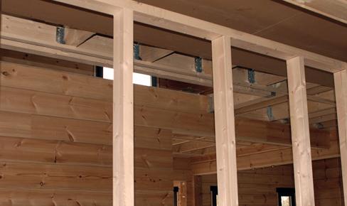 монтаж каркаса стены, wall frame mounting