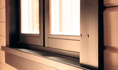 slopes - Монтаж окон и дверей в деревянном доме