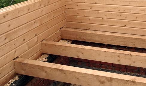 floor bars min - Монтаж полов в деревянном доме