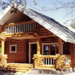 Деревянный дом 105 кв.м