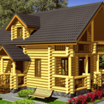 Деревянный дом 130 кв.м.